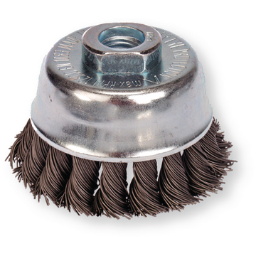 Knot cup brush 65 mm